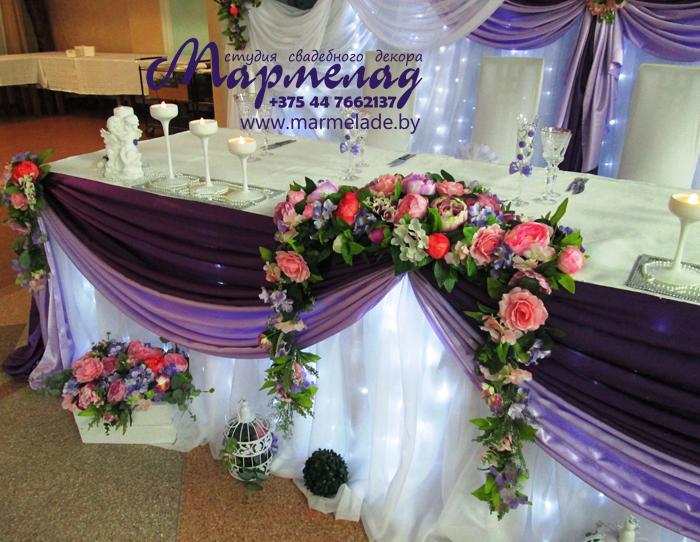 Как украшать зал на свадьбу мастер класс